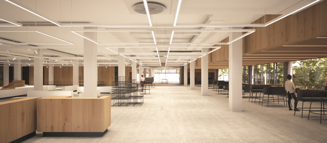 TL Robertson Library Curtin University, Bentley, Western Australia - A Education, Science & Research project for Curtin University by Hames Sharley