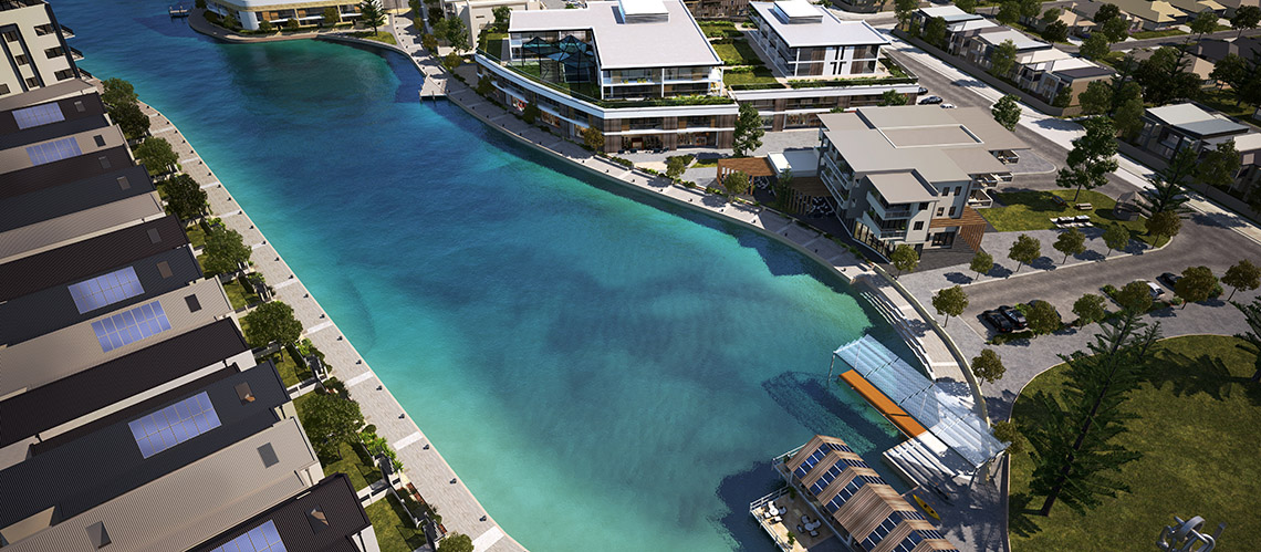 Port Geographe Urban Design Review &  Marine Village Concept, Busselton, Western Australia - A Urban Development project for Aigle Royal Developments by Hames Sharley