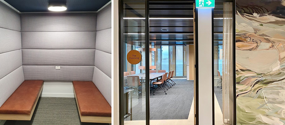 | Finlaysons Lawyers Workplace Fitout, Adelaide, South Australia - A Workplace project for Finlaysons Lawyers by Hames Sharley