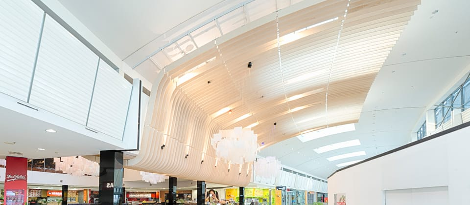 Rhodes Shopping Centre Foodcourt, Rhodes, New South Wales - A Retail & Town Centres project for Mirvac Real Estate Pty Ltd by Hames Sharley