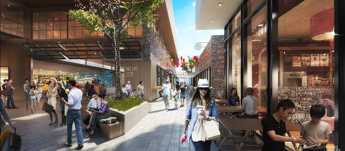 The Subiaco Pavilion Markets Site Rejuvenation, Subiaco Western Australia - A Urban Development project for Blackburne by Hames Sharley