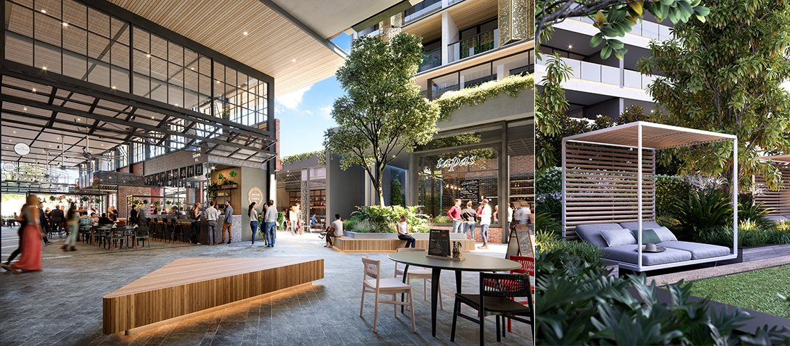 The Subiaco Pavilion Markets Site Rejuvenation - One Subiaco, Subiaco Western Australia - A Residential project for Blackburne by Hames Sharley