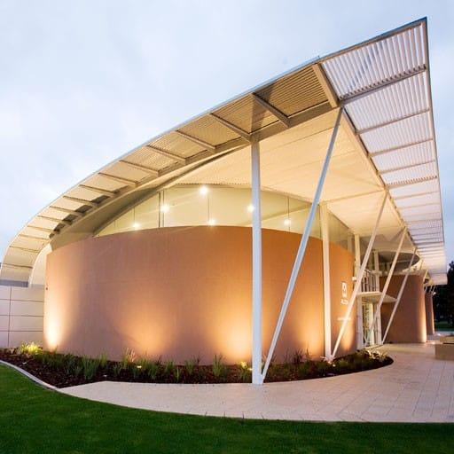 Hames Sharley's Office & Industrial project: Alcoa Peel Regional Office