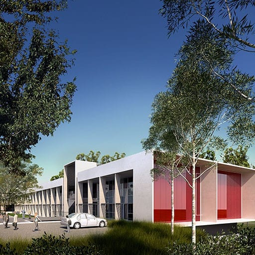 Tertiary Education, Science & Research Project - Applecross Senior High School, Applecross, Western Australia by Hames Sharley