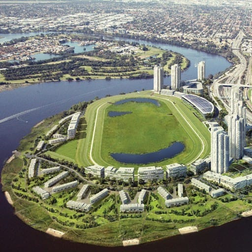 Hames Sharley's Residential project: Belmont Park Racecourse Development