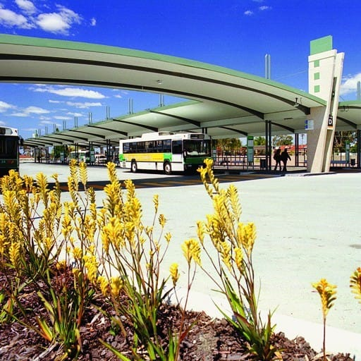 Hames Sharley's Public & Culture project: Booragoon Bus Interchange