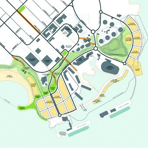 Hames Sharley's Urban Development project: Darwin Waterfront Review and Development Framework