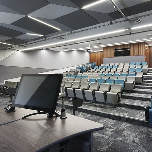 Workplace Project - Edith Cowan University Lecture Theatre by Hames Sharley