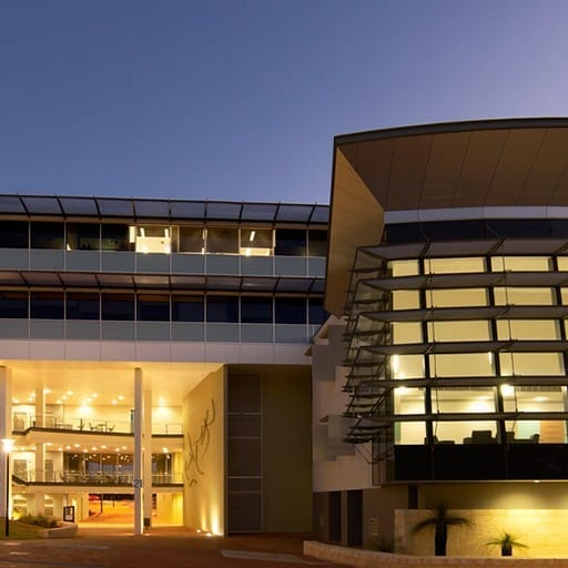 Hames Sharley's Tertiary Education, Science & Research project: Edith Cowan University Health and Wellness Building