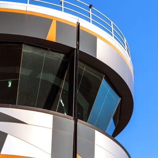 Defence Project - RAAF Base Edinburgh Air Traffic Control Tower by Hames Sharley