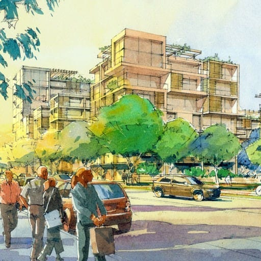 Hames Sharley's Residential project: Greenway Precinct Master Plan