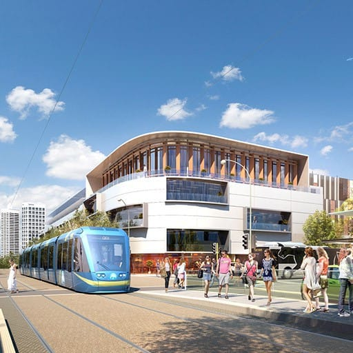 Urban Development Project - MAX Light Rail, Perth Metropolitan Area (with northern and city focus for Light Rail) by Hames Sharley