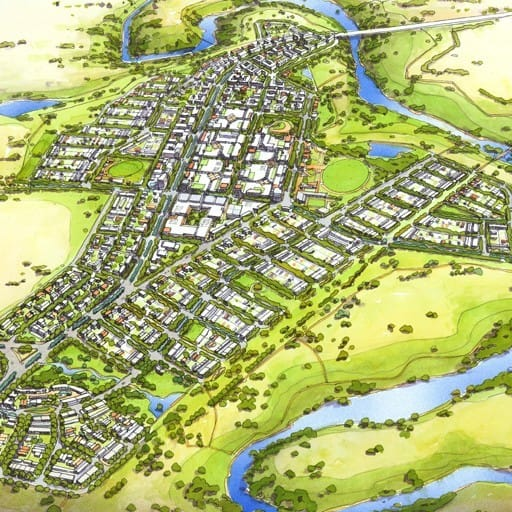 Urban Development Project - Molonglo Valley Stage 2, Canberra, ACT by Hames Sharley