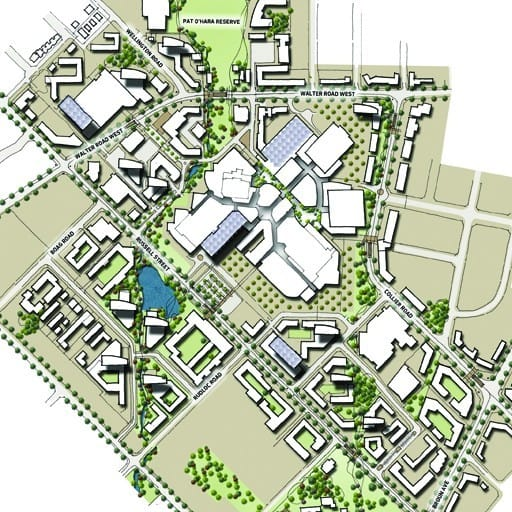 Urban Development Project - Morley City Centre Master Plan, Morley, Western Australia by Hames Sharley