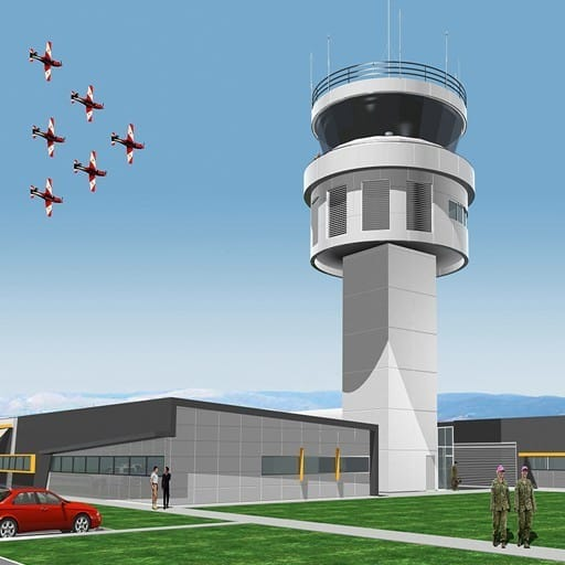 Hames Sharley's Defence project: RAAF East Sale Air Traffic Control Tower