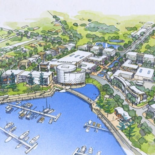Hames Sharley's Urban Development project: Shell Cove Boat Harbour Precinct Village Centre