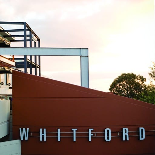 Hames Sharley's Retail & Town Centres project: Whitford City Shopping Centre