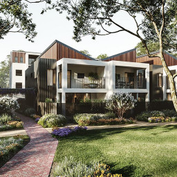 A Residential Project in Camden Park, South Australia by Hames Sharley