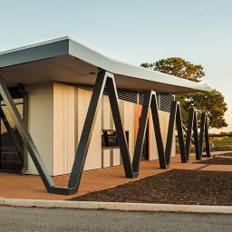 A Tertiary Education, Science & Research Project in Loxton, South Australia by Hames Sharley