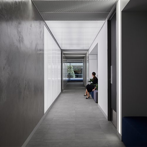 Workplace Project - 240 St Georges End-of-Trip facility and tower lobbies by Hames Sharley