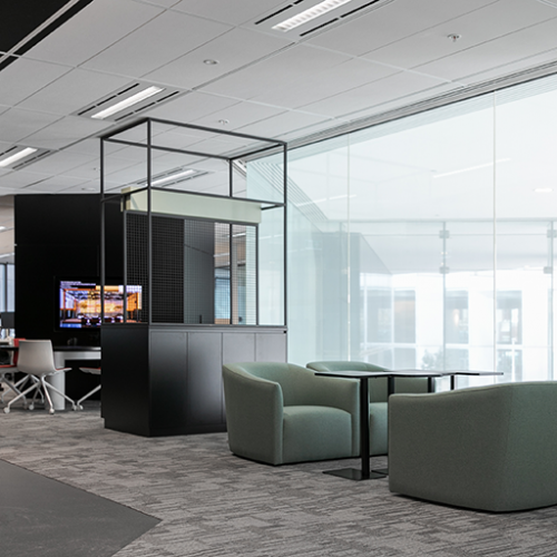 Workplace Project - ARUP Workplace Interiors, 14/2 The Esplanade, Perth WA 6000 by Hames Sharley