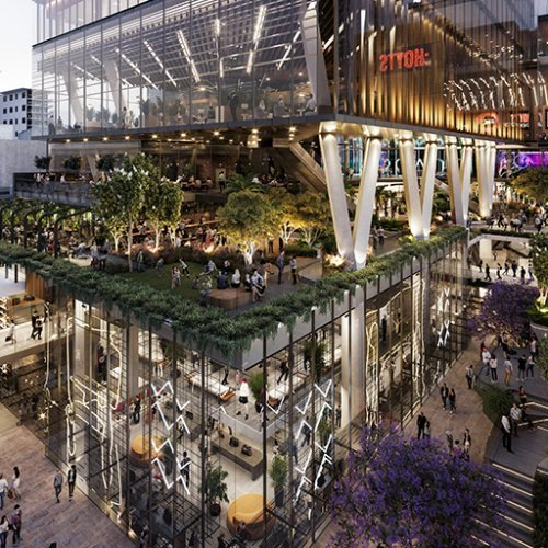 Workplace Project - Carillon City Redevelopment, Perth CBD, Western Australia by Hames Sharley