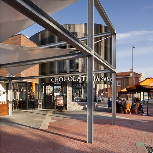 Retail & Town Centres Project - Cale Street Cafe, Midland Gate, Western Australia by Hames Sharley