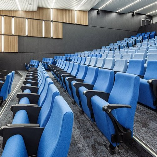 Workplace Project - ECU Mt Lawley Lecture Theatre 3.201, Mount Lawley, Western Australia by Hames Sharley