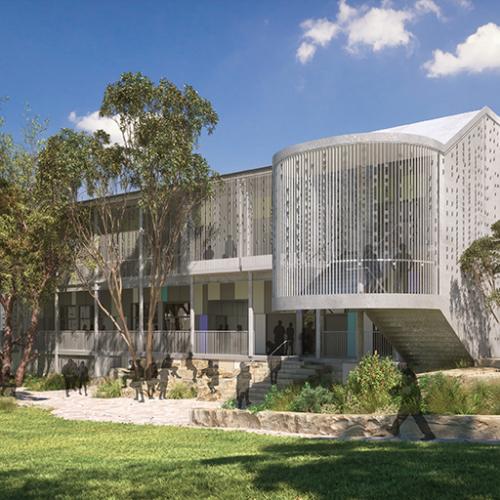 Education, Science & Research Project - Picnic Point High School upgrade, Picnic Point, New South Wales by Hames Sharley