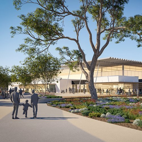 Urban Development Project - Baldivis District Sporting Complex by Hames Sharley