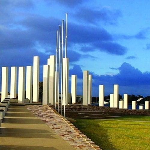 Public & Culture Project - Mandurah War Memorial, Mandurah, Western Australia by Hames Sharley