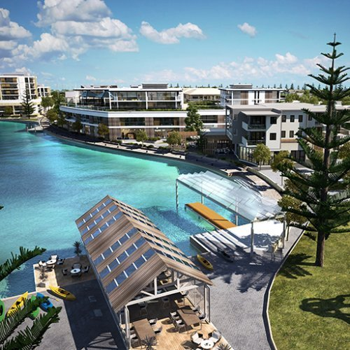 Urban Development Project - Port Geographe Urban Design Review &  Marine Village Concept by Hames Sharley