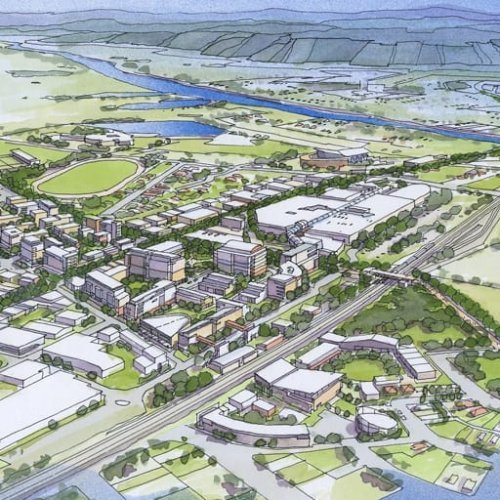 Urban Development Project - The Penrith Progression - Place Shaping Framework by Hames Sharley
