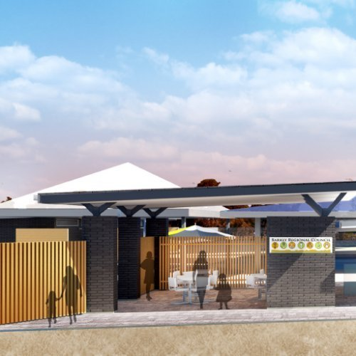 Sport & Recreation Project - Purkiss Swimming Pool Complex and Football Change Rooms, Tennant Creek, Northern Territory by Hames Sharley
