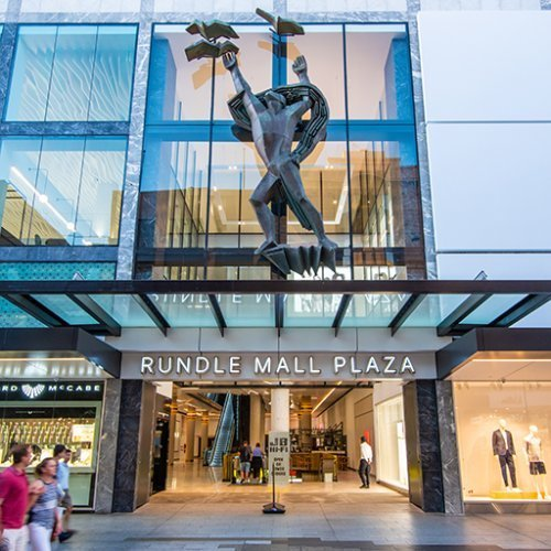 Retail & Town Centres Project - Rundle Mall Plaza Redevelopment, Adelaide by Hames Sharley