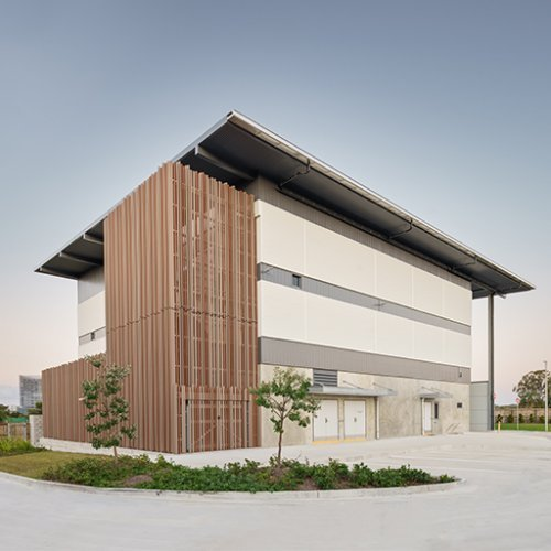 Office & Industrial Project - SunCentral Automated Waste Collection System (AWCS), Maroochydore, Queensland  by Hames Sharley