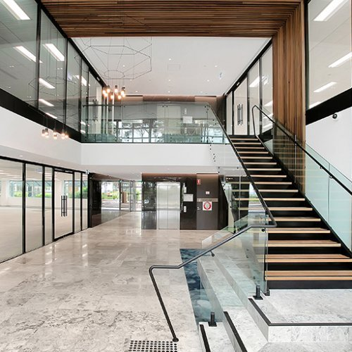 Office & Industrial Project - Figtree Drive Refurbishment, Sydney Olympic Park, New South Wales by Hames Sharley