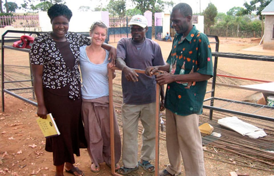 Feature image for the article 'Hames Sharley Supports Rebecca's Volunteer Work in Kenya'