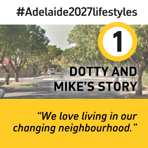 Thumbnail for the article 'Middle Metro Suburbs: Dotty and Mike's Story' by Andrew Russell