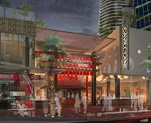 Image for the article Asia-inspired Laneway in Surfers Paradise Revealed
