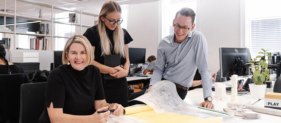 Feature image for the article 'Hames Sharley appoints new Queensland Studio Leader'
