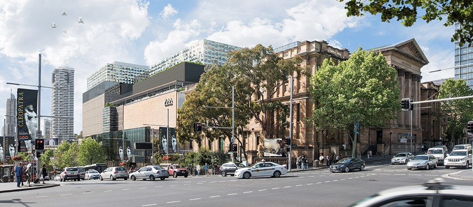 Hames Sharley News: Hames Sharley collaborates with Australian Museum on $285 million master plan