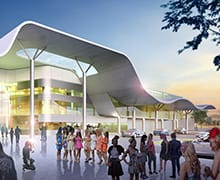 Image for the article Perth's Belmont Park Grandstand plans revealed