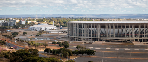 Mane Garrincha National Stadium of Brasilia, Brazil