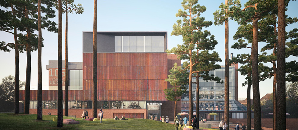 Feature image for the article 'Major upgrade to transform Curtin's iconic library'