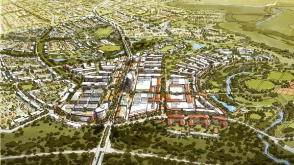 Artist's impression of Ecco Ripley. Retail & Town Centres. Urban Development
