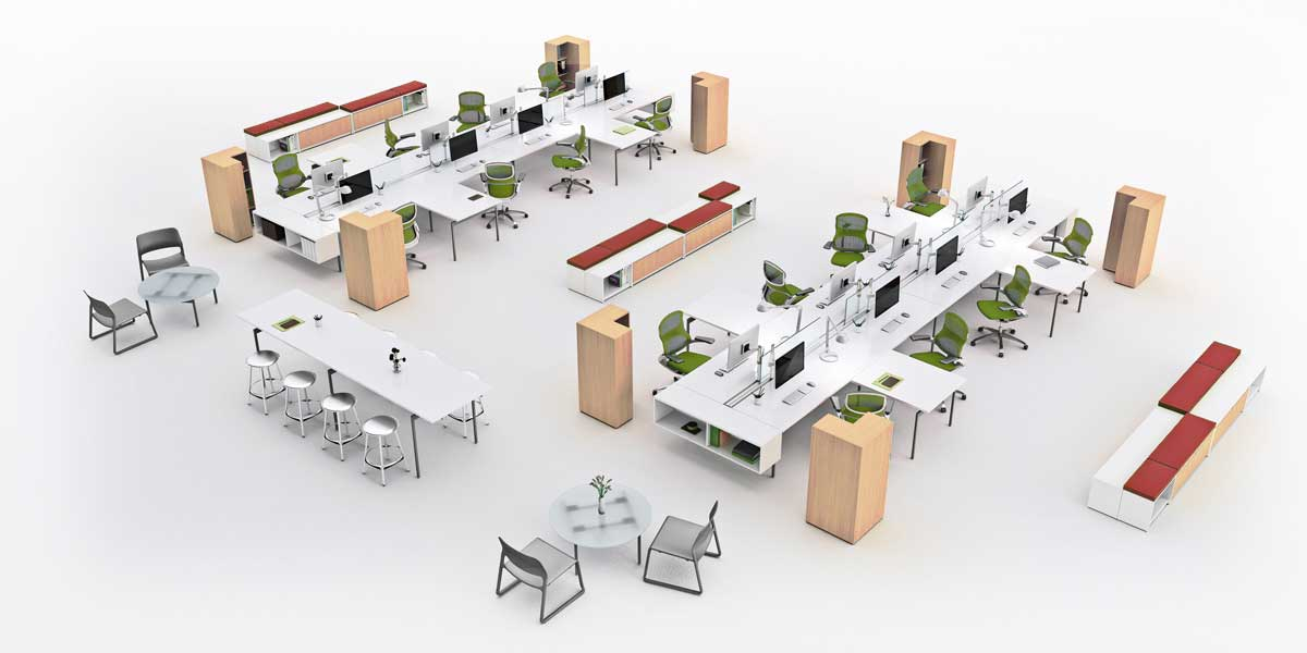 Thumbnail for the article 'The evolution of activity-based workplaces' by Ben Hurley