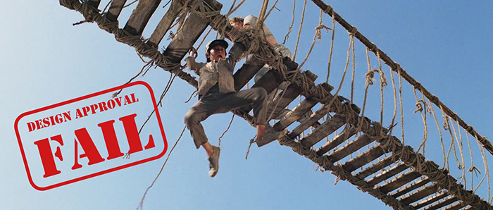 Design Approval Fail - Indiana Jones