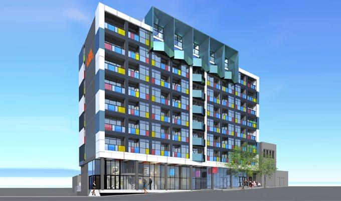 Little Hero Apartments - Nonda Katsilidis' first demonstration project with prefab construction