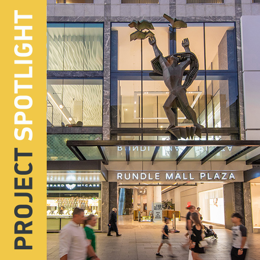 Thumbnail for the article 'Rundle Mall Plaza, Adelaide'